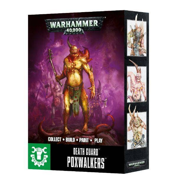 Games Workshop Death Guard Poxwalkers