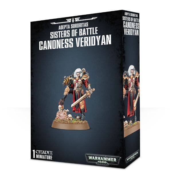 Games Workshop Canoness Veridyan