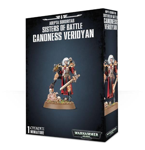 Games Workshop Canoness Veridyan