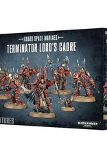 Games Workshop Chaos Space Marines Terminator Lords Cadre