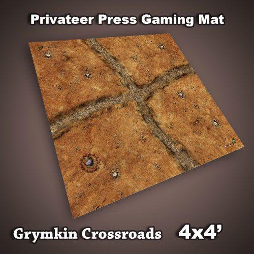Frontline Gaming Privateer Press Mat: Grymkin Crossroads 4x4'