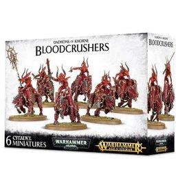 Games Workshop Daemons Of Khorne Bloodcrushers