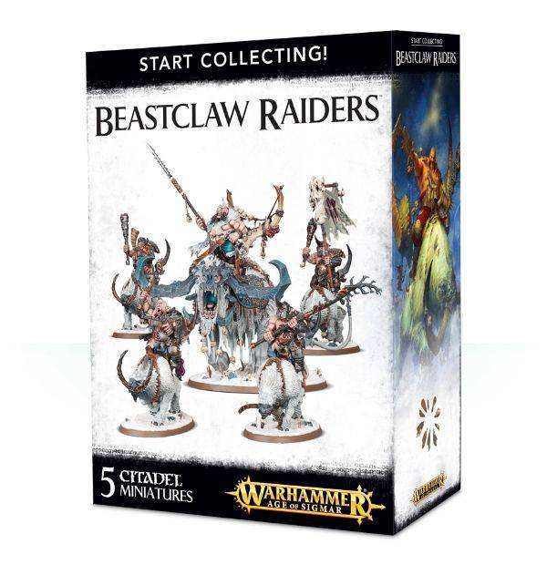 Games Workshop Start Collecting Beastclaw Raiders