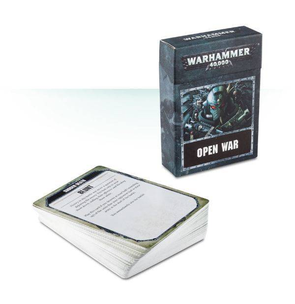 Games Workshop Warhammer 40,000 Open War Cards