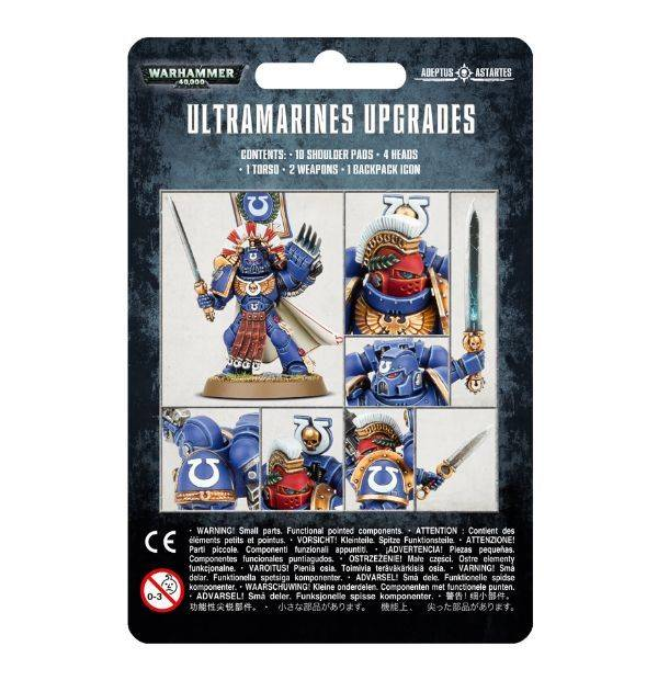 Games Workshop Ultramarines Upgrade Pack