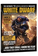 Games Workshop White Dwarf August 2017