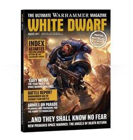 Games Workshop White Dwarf August 2017
