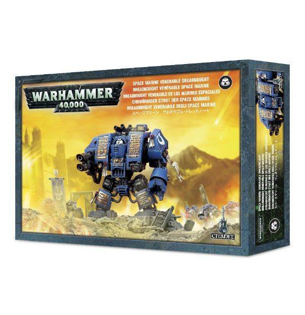 Games Workshop Space Marine  Venerable Dreadnought