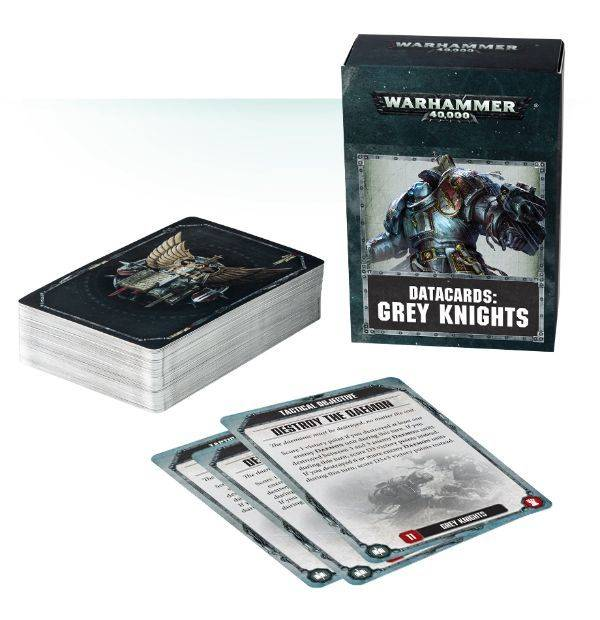 Games Workshop Datacards: Grey Knights