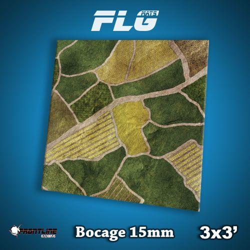 Frontline Gaming FLG Mats: 15mm Bocage 3x3'
