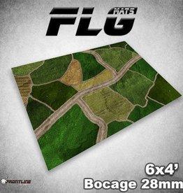 Frontline Gaming FLG Mats: 28mm Bocage 6x4'