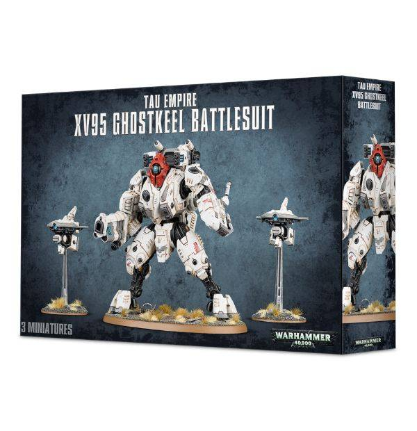 Games Workshop XV95 Ghostkeel Battlesuit