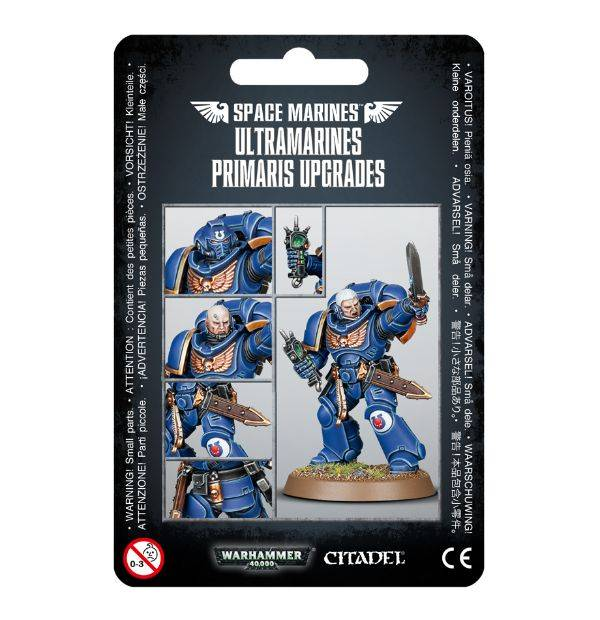 Games Workshop Ultramarines Primaris Upgrades