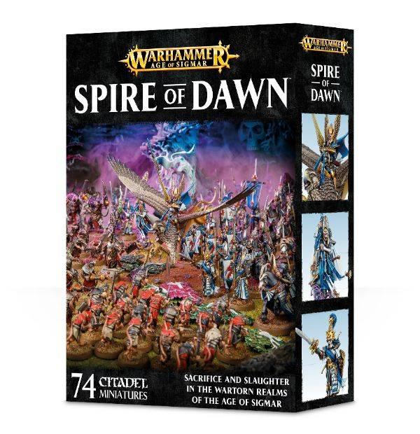 Games Workshop Warhammer Age of Sigmar: Spire of Dawn