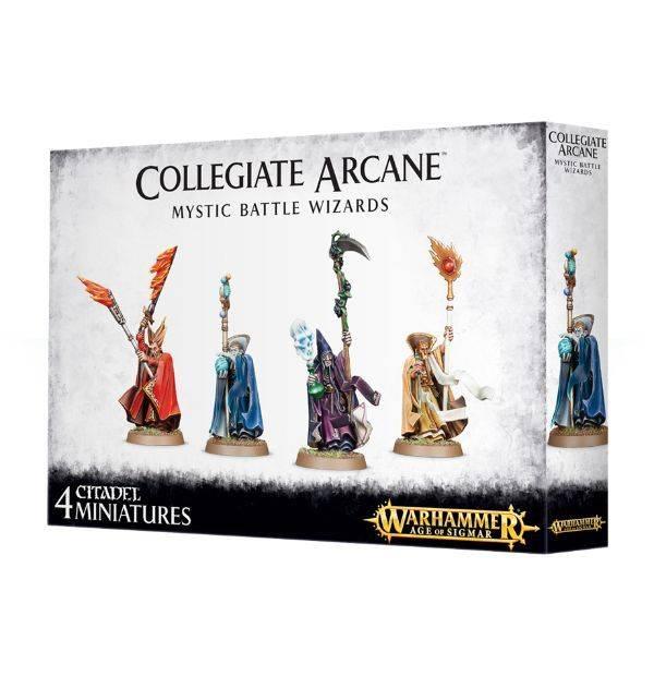Games Workshop Collegiate Arcane Mystic Battle Wizards