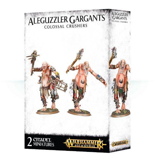 Games Workshop Aleguzzler Gargants Colossal Crushers