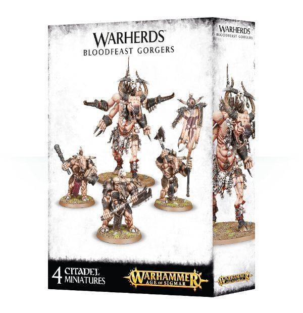 Games Workshop Warherds Bloodfeast Gorgers