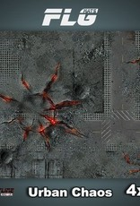 Frontline Gaming FLG Mats: Urban Chaos 4x4'