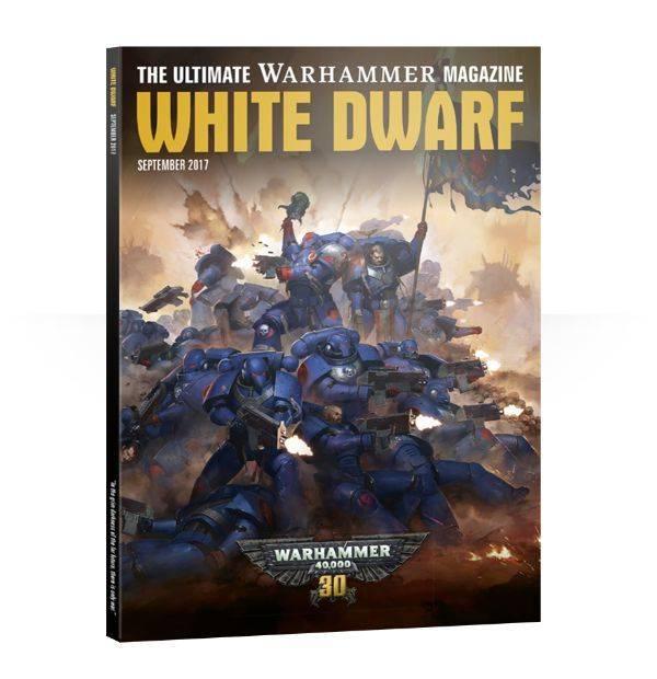 Games Workshop White Dwarf September 2017