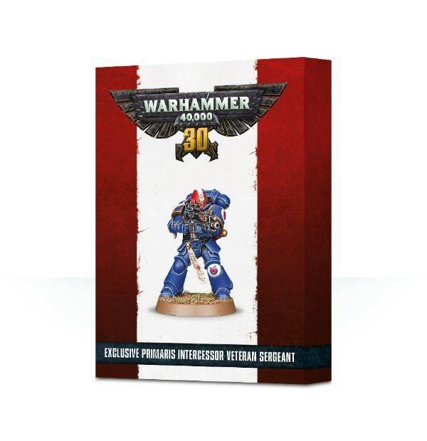 Games Workshop 30 Years of Warhammer 40,000 Primaris Intercessor Veteran Sergeant