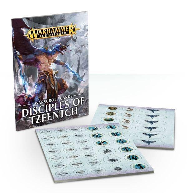 Games Workshop Warscroll Cards: Disciples of Tzeentch