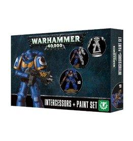 Games Workshop Intercessors & Paint Set