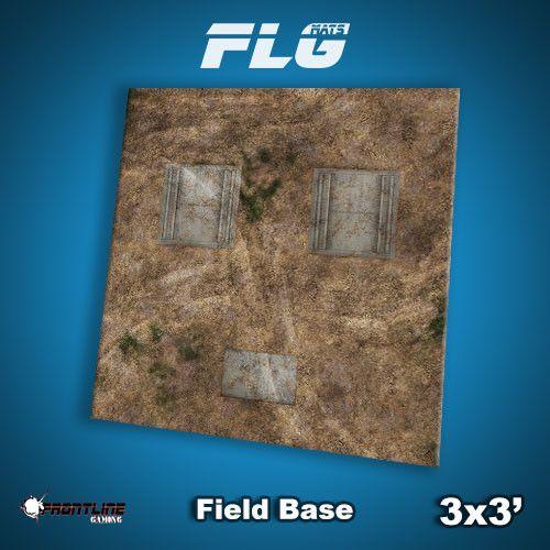 Frontline Gaming FLG Mats: Field Base 3x3'