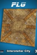 Frontline Gaming Mats: Interstellar City 3x3'