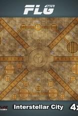 Frontline Gaming FLG Mats: Interstellar City 4x4'