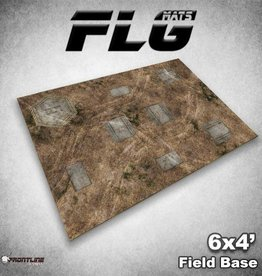 Frontline Gaming FLG Mats: Field Base 6x4'