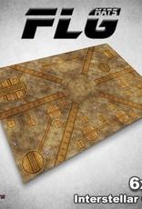 Frontline Gaming FLG Mats: Interstellar City 6x4'