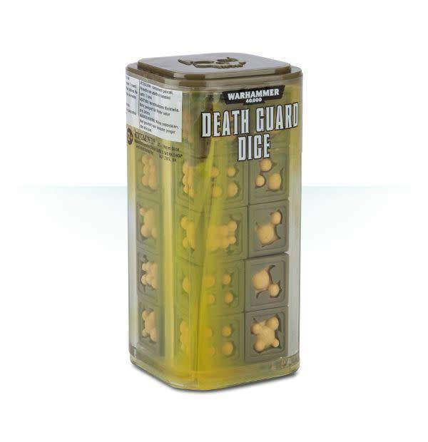 Games Workshop Death Guard Dice