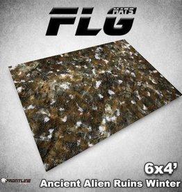 Frontline Gaming FLG Mats: Ancient Alien Ruins Winter 6x4'
