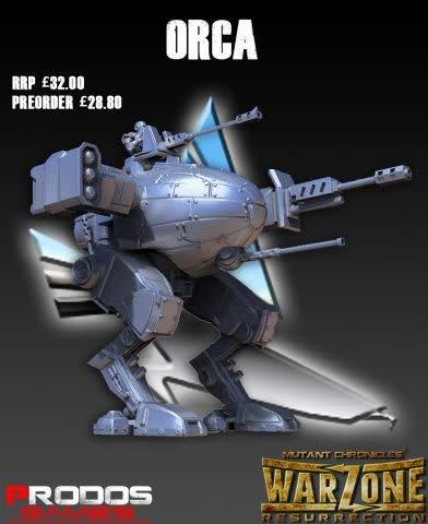 Prodos Games Warzone: Capitol Orca (Kickstarter Version)
