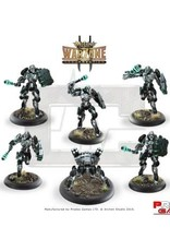 Prodos Games Warzone: Cybertronic Machinators MK IX with Oppresseur MK I