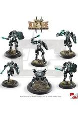 Prodos Games Warzone: Cybertronic Machinators MK IX with Oppresseur MK I