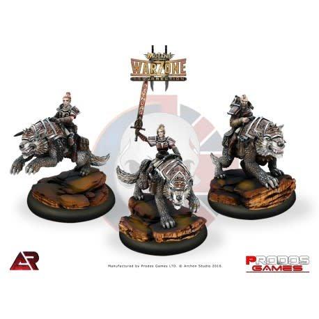 Prodos Games Warzone: Imperial Strathgordon Varg Riders