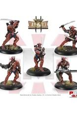 Prodos Games Warzone: Mishima Crimson Devils