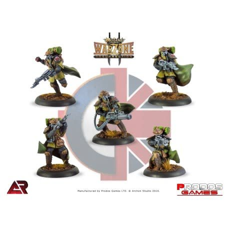 Prodos Games Warzone: Imperial Trenchers