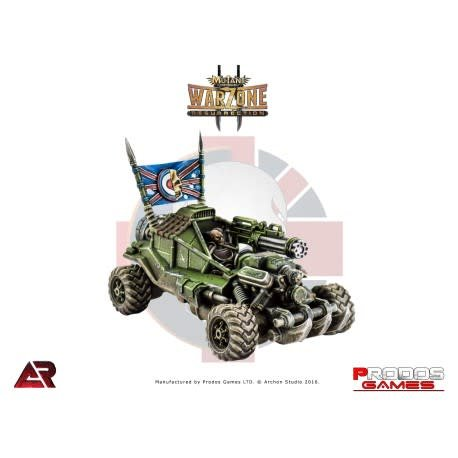 Prodos Games Warzone: Imperial Hedgehog Necromower ATV
