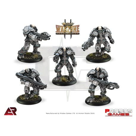 Prodos Games Warzone: Cybertronic Armoured Chasseurs