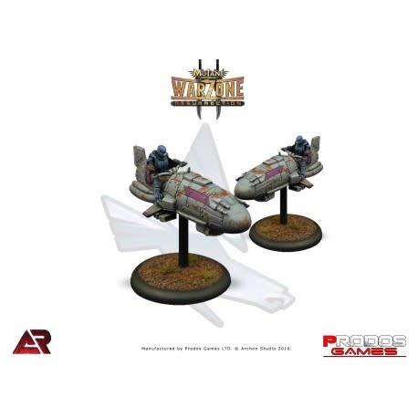 Prodos Games Warzone: Capitol Purple Shark
