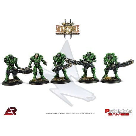 Prodos Games Warzone: Capitol Heavy Infantry
