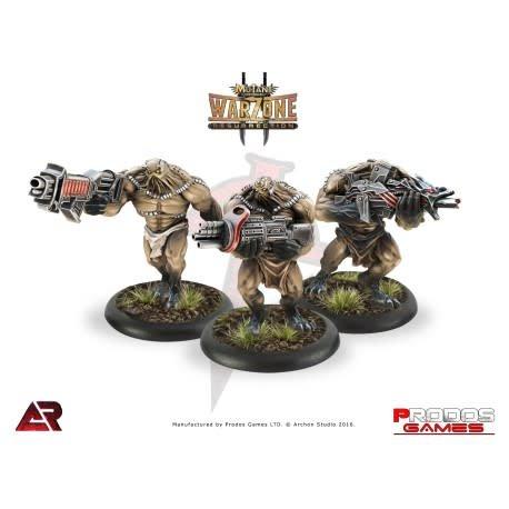 Prodos Games Warzone: Dark Legion Nasca Razide Add Ons