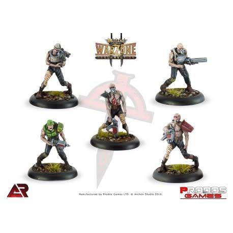 Prodos Games Warzone: Dark Legion Undead Legionnaires