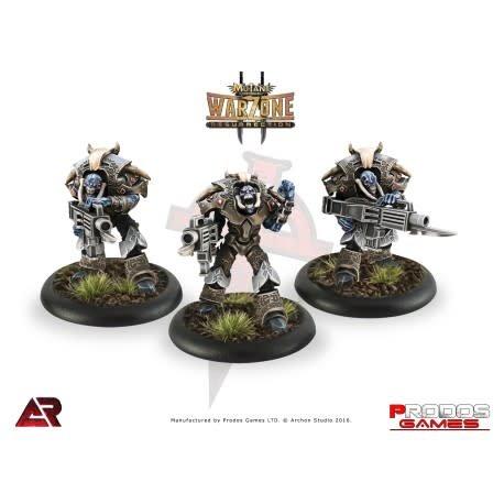 Prodos Games Warzone: Dark Legion Praetorian Stalkers-Ranged