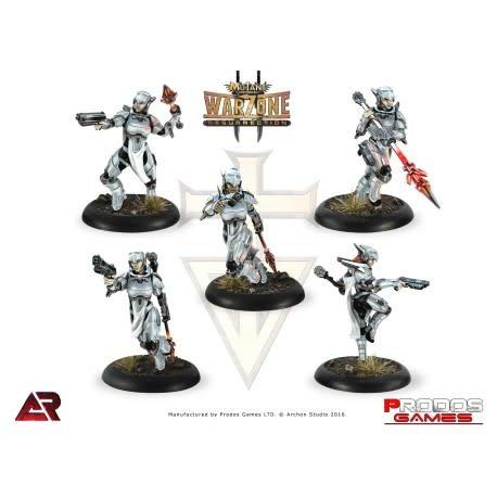 Prodos Games Warzone: Brotherhood Valkyries