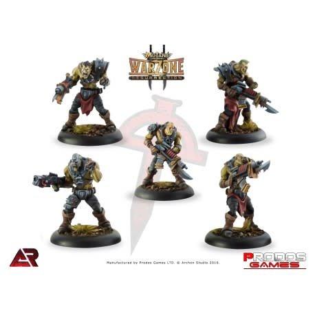 Prodos Games Warzone: Dark Legion Necromutants
