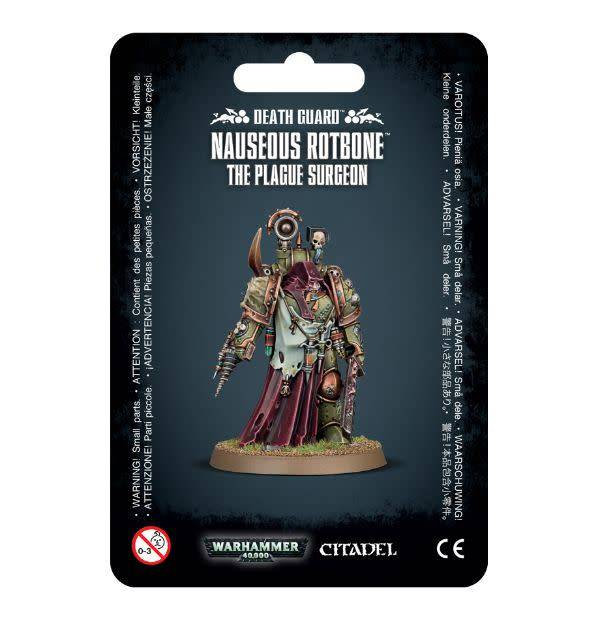 Games Workshop Nauseous Rotbone, the Plague Surgeon