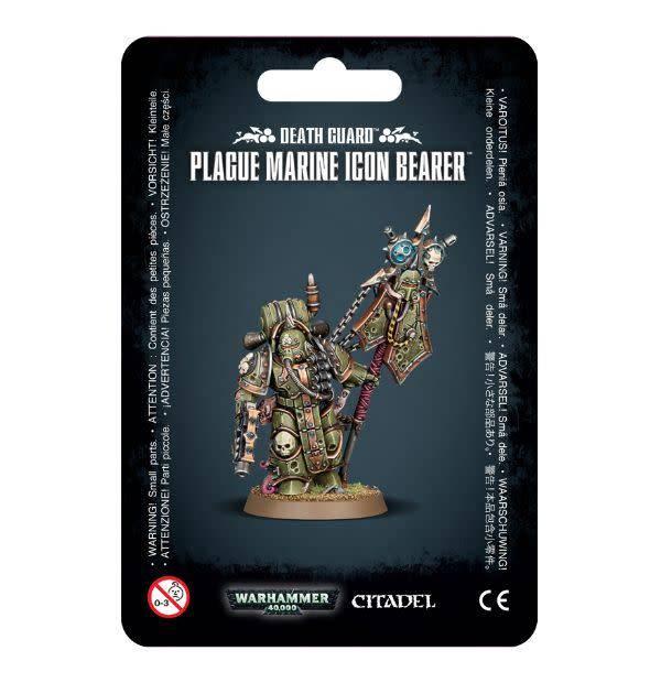 Games Workshop Plague Marine Icon Bearer